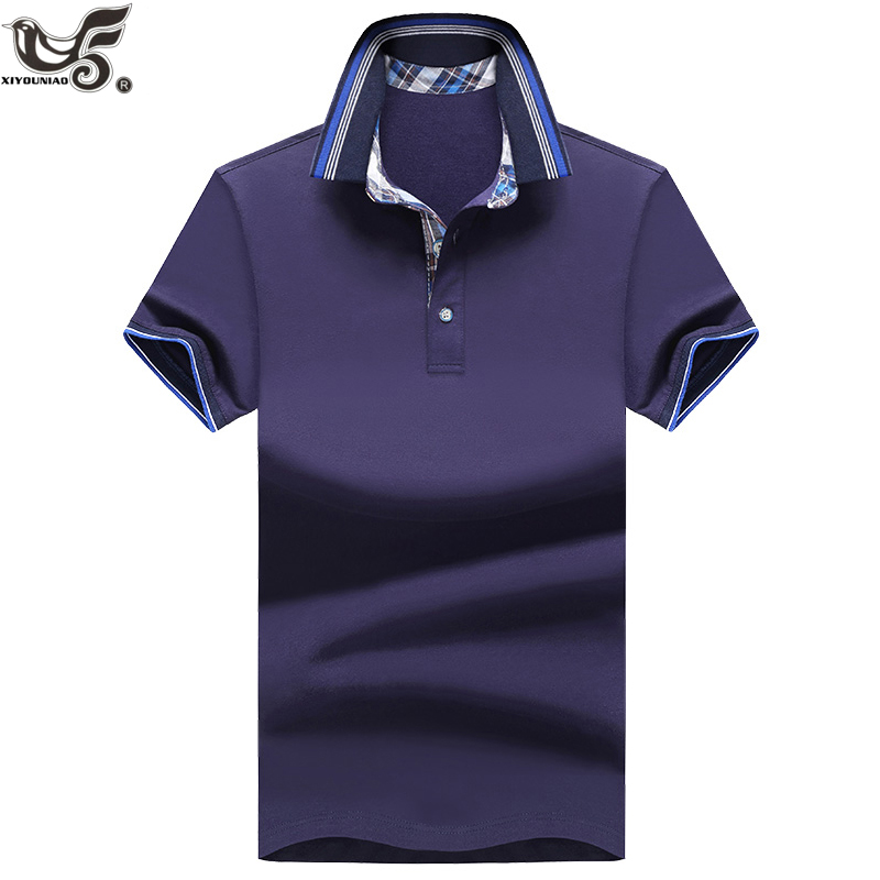 XIYOUNIAO Brand New Men's Polo Shirt Men Cotton Short Sleeve Shirt Sportswear polo Jerseys Golftennis Camisa Polo Homme clothing