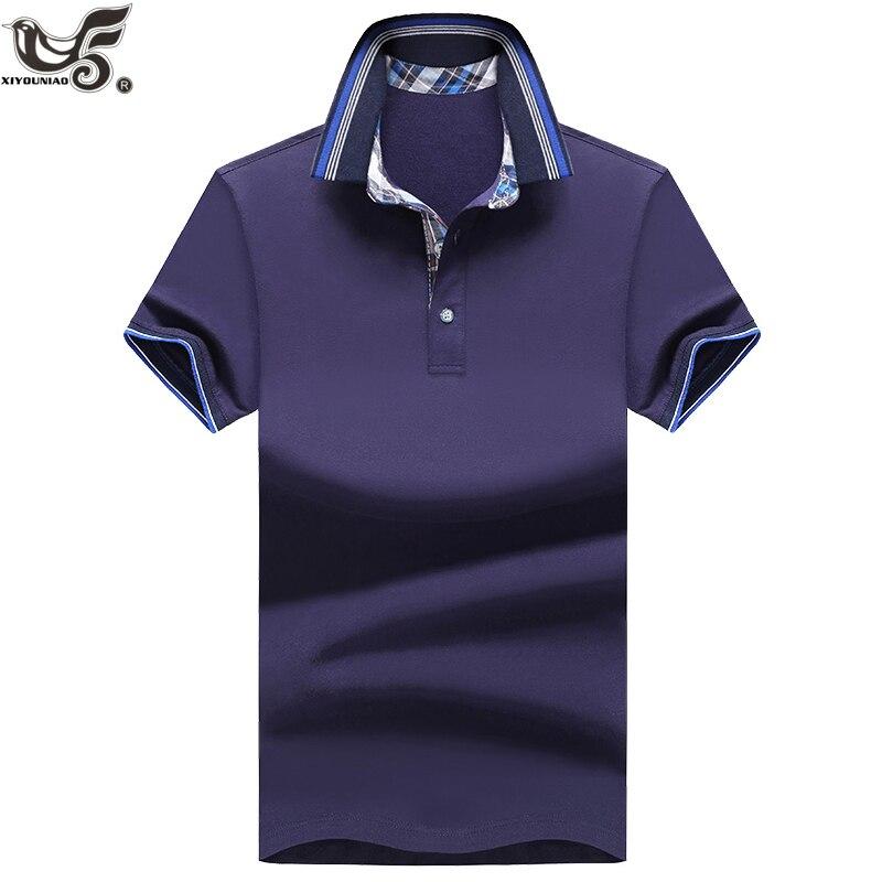 Design; Aufstrebend Xiyouniao Marke Neue Männer Polo Shirt Männer Baumwolle Kurzarm Shirt Sportswear Polo Trikots Golftennis Camisa Polo Homme Kleidung Novel In