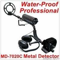 Newest Full Waterproof Metal Detector Professional Underwater Metal Detector MD 7020C Gold Detector Treasure Hunter