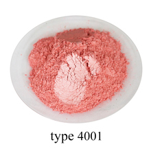 type 4001 Super shiny pearl powder, colorful  nail, ink, toys, handicrafts, fishing rod dyeing, 50 grams per bag