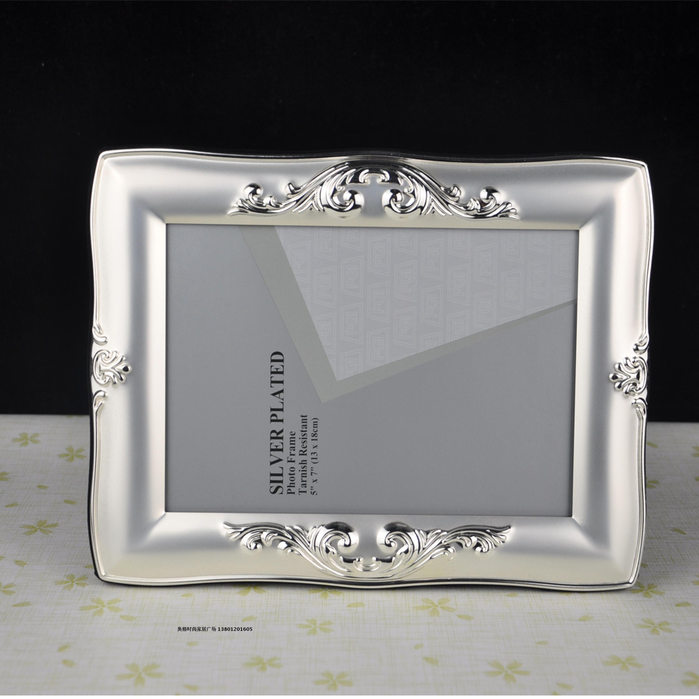 Good quality luxury silver plated metal photo frame picture frames good quality luxury silver plated metal photo frame picture frames mpf003 in frame from home garden on aliexpress alibaba group jeuxipadfo Image collections