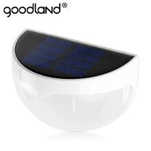 Goodland LED Solar Lámpara de Luz de Iluminación Al Aire Libre 6 LED Solar Control IP55 A Prueba de agua de Alta Luz Brillante Luz Del Jardín