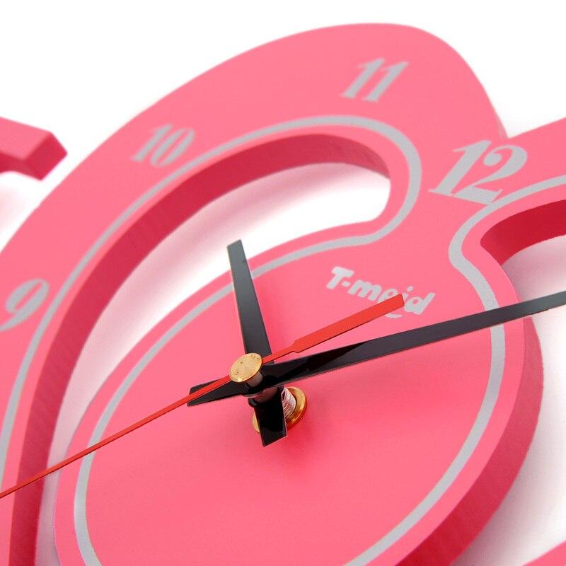 Día Mida amor de moda creativa foto de la pared marco reloj ...