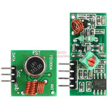 2pairs/lot 315MHz RF Wireless Remote Transmitting Mode & Receiving Module Transceiver Board Super Regeneration For Arduino