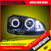Car Styling For VW Jetta Led Headlights 2006 12 For Jetta Head Lamp Angel Eye Led