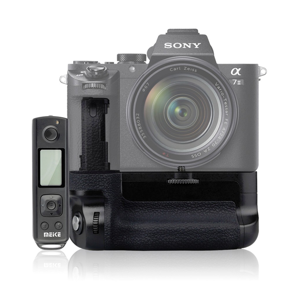 Meike Mk A7II Pro Built in 2 4g Wireless Battery Grip for sony A7II with Remote