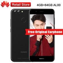 "Globale Firmware Huawei Nova 2 4 GB RAM 64 GB ROM PIC-AL00 5,0 ""Kirin 659 Octa-core 3 Kameras Dual SIM Fingerabdruck Smartphone"