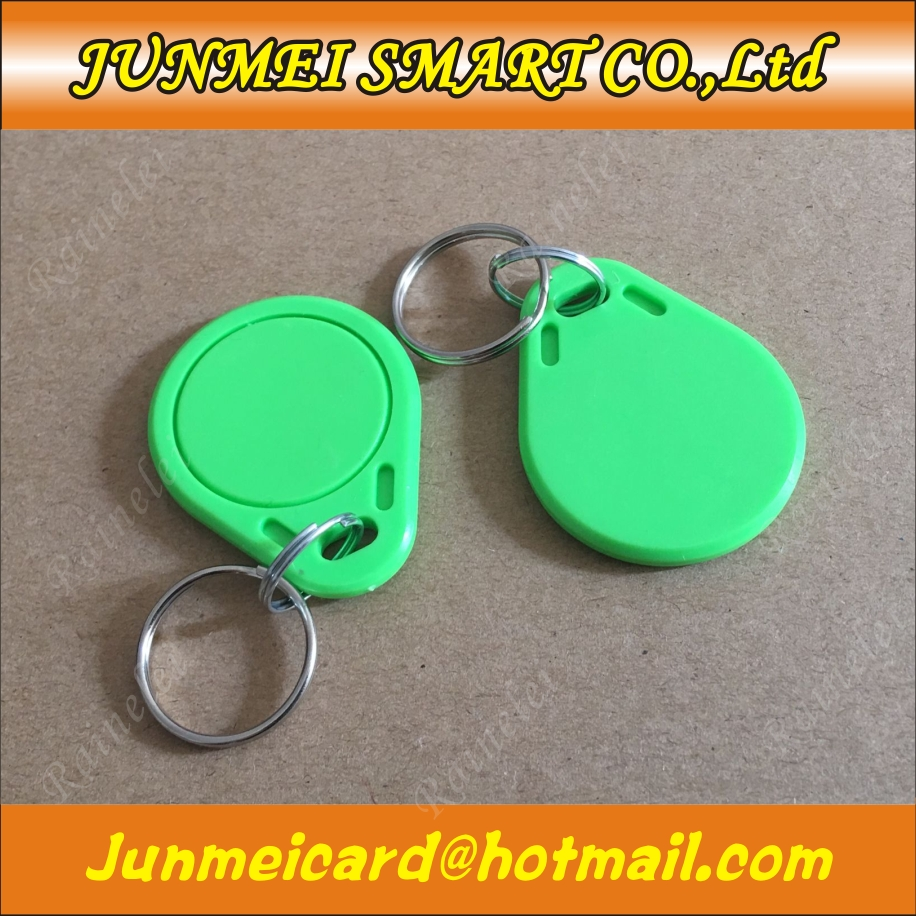 US $30 45 13% OFF|100 pcs NFC 215 For Tagmo Switch Token Tag Key 13 56MHz  RFID Keyfobs Keychain for All NFC Mobile Phone-in Access Control Cards from