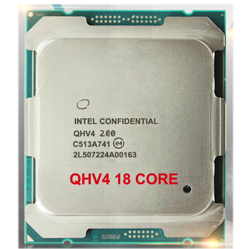 QHV4 INTEL Engineering version of XOEN E5-2695 V4 <font><b>CPU</b></font> 2.00GHz 18-Core PROCESSOR LGA2011-3 1 year warranty image