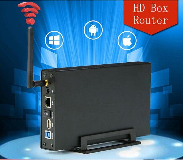 Blueendless 300 мбит wi-fi маршрутизатор ретранслятор wifi хранения сигнала диапазон expander многофункциональный HDD Корпус бесплатная доставка U35WF