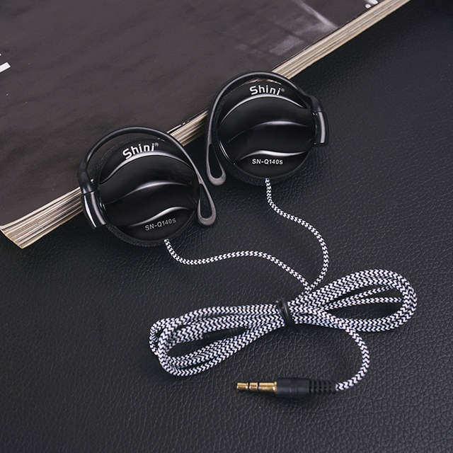 Universal Headphones 3.5mm Earphone Earhook with Clear Voice for MP3 Player Computer Apple iPhone 6 6S 5 5S Mobile Phone Headset