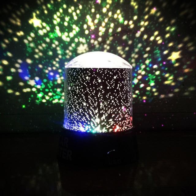 Jiguoor Dg Snl Amazing Night Light Kids Lamp Sky Star Cosmos Colorful Laser Projector