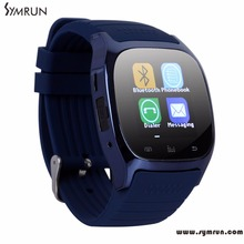 Symrun M26 Bluetooth Smart Watch luxury wristwatch   smartwatch with Dial SMS  Remind Pedometer for Android Samsung phone