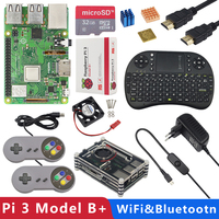 Original UK Raspberry Pi 3 Model B Plus 1G RAM 1.4GHz Quad core 64 bit CPU Build in WiFi&Bluetooth Raspberry Pi 3B+ kit
