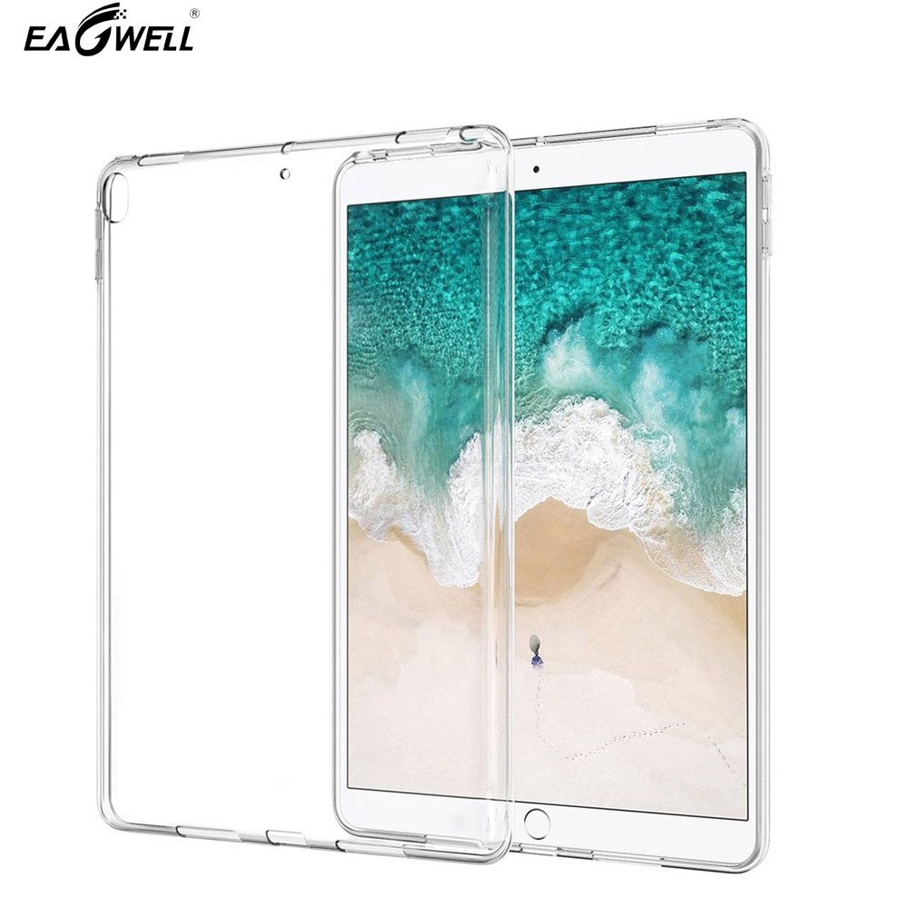 Soft Durable TPU Cover Case For Apple iPad Pro 10.5 2017 Ultra thin lightweight Transparent Protective Tablet Case Shell Skin soft case back cover for xiaomi redmi 4 pro transparent
