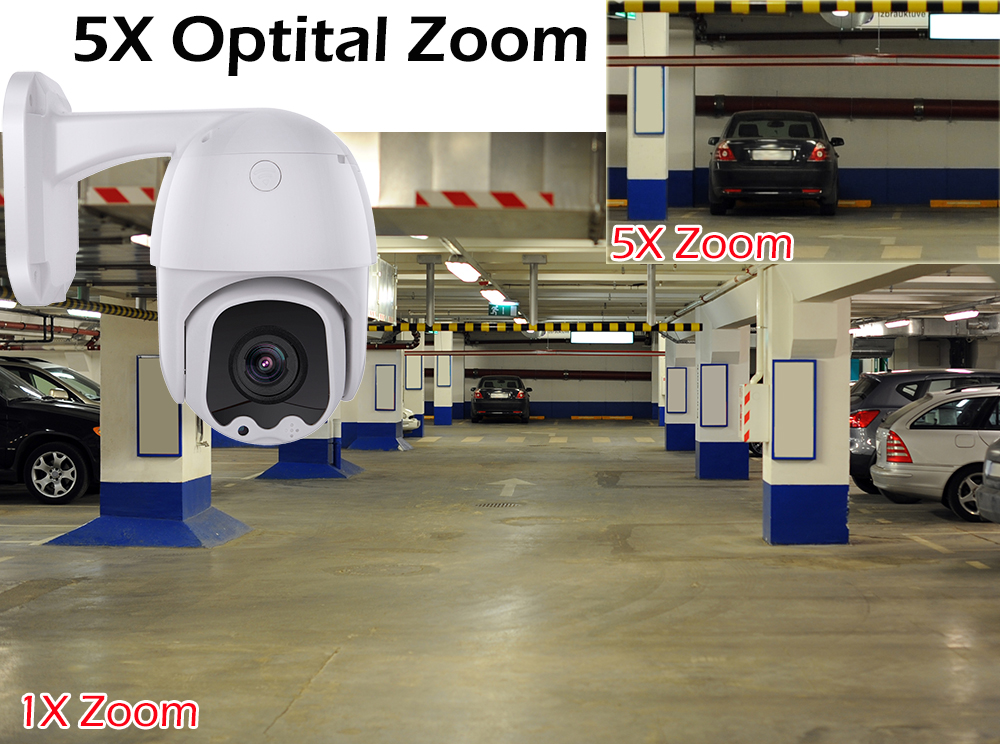 Image 5 - USAFEQLO AHD5MP 5X MINI PTZ Dome Camera 5MP 5X AHD Camera 30M IR Outdoor CCTV Camera Support RS485 Coaxial Control function-in Surveillance Cameras from Security & Protection