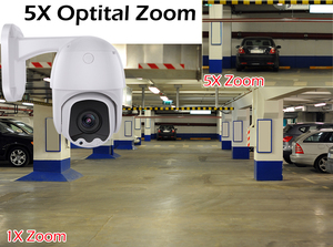 Image 5 - USAFEQLO AHD5MP 5X MINI PTZ Dome Camera 5MP 5X AHD Camera 30M IR Outdoor CCTV Camera Support RS485 Coaxial Control function