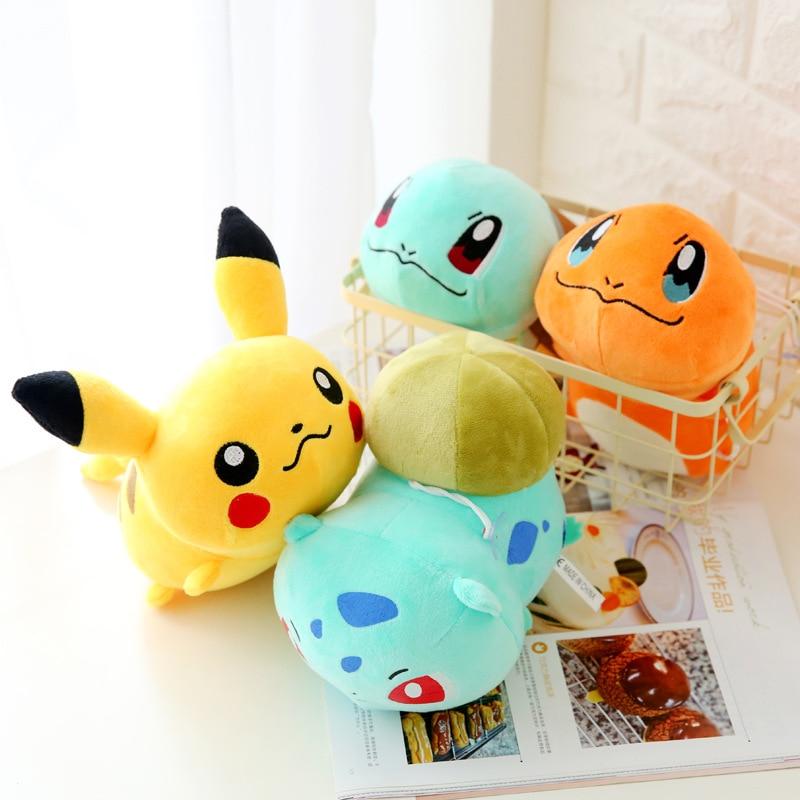 Pikachu Plush Toys Children Gift Cute Soft Toy Cartoon Pocket Monster Anime Kawaii Baby Kids Toy Pikachu Stuffed Plush Doll pocket monster pokemon poke ball plush stuffed toy soft pillow 40cm