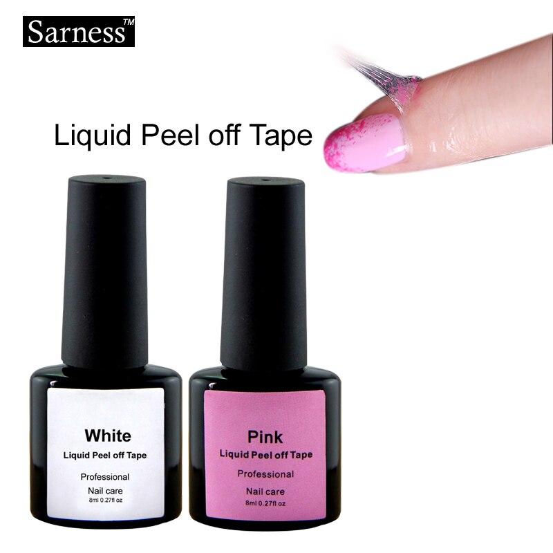 L Off Liquid Nail Art Tape Latex Finger Skin Protected Glue Base Coat Care