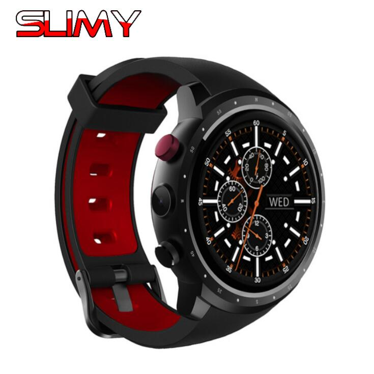 Slimy Z18 Android 5.1 OS Smart Watch Phone Support 2.0MP HD Camera Heart Rate Monitor GPS WIFI 3G Reloj Inteligente Android цена