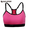 GLO-STORY Women Crop Top sexy vests women Casual Bra For Quick Drying Professional Tank Fitness Underwear womens Vests colete