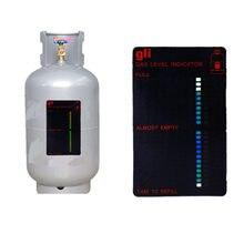 Jauge magnétique, indicateur de niveau de réservoir de gaz Butane, bouteille de Propane gpl, compteur d'intérieur, par dhl fedex, 100 pièces