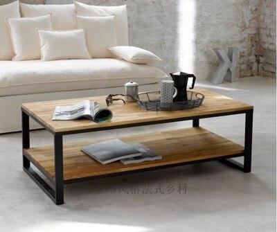Benua Besi Ikea Ruang Meja Kopi Sofa Untuk Melakukan Furnitur Retro Tua