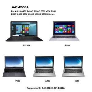 Image 5 - 15V 2950mAh Korea Cell New A41 X550A Laptop Battery for ASUS A41 X550 X450 X550 X550C X550B X550V X450C X550CA X452EA X452C