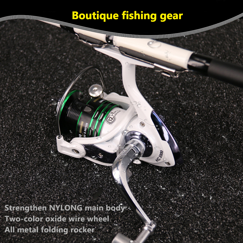 Fishing Spinning Reel 500-7000 Series Baitcasting Reel With Metal Handle Spinner Reels Fly Fishing Reel (7)