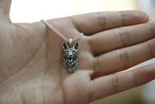 German shepherd necklace dog pendant