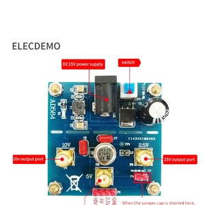 Image 2 - AD584 โมดูลอ้างอิงแรงดันไฟฟ้า 2.5 V/5 V/7.5 V/10 V ความแม่นยำสูงแรงดันไฟฟ้าอ้างอิงแหล่งฟังก์ชั่นการสอบเทียบ DEMO BOARD