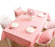 YO HOOM Kitchen Cotton Tablecloth Tablecover Coffee Table Cloth Table Cover PinkColor Optional yo hoom kitchen cotton tablecloth tablecover coffee table cloth table cover simple blue color optional