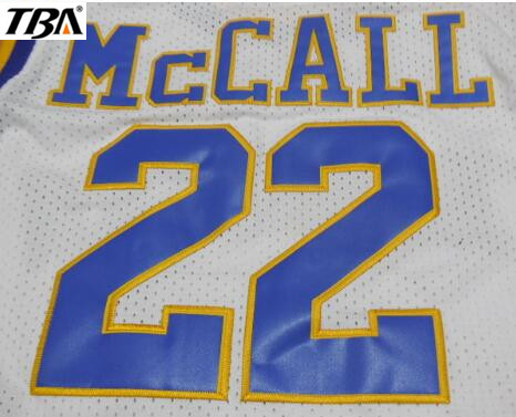 7d9758899e13 NEW Mens  22 CRENSHAW McCALL Cheap Throwback Film Basketball Jerseys ...