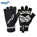 COPOZZ Half Finger Silicone GEL Bike Bicycle Cycling mountain/mtb Non-slip Gloves for riding Guantes Ciclismo Men Women Sport