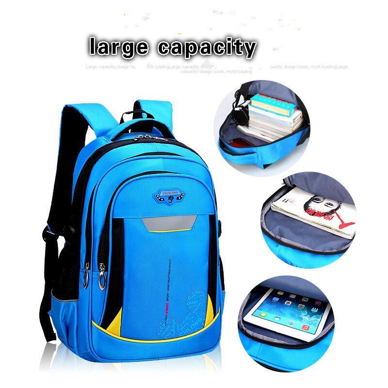 School Bags boys Girls Children Backpacks Primary school Backpack Orthopedic schoolbags Backpack kids schoolbag mochila infantil in School Bags from Luggage Bags