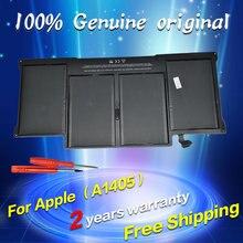 JIGU Оригинальный аккумулятор Для MacBook Air 13 «Модель A1369 Середине 2011, A1466 A1405 Батареи 020-7379-A MC965 MC966 MD231 MD232 2012 год
