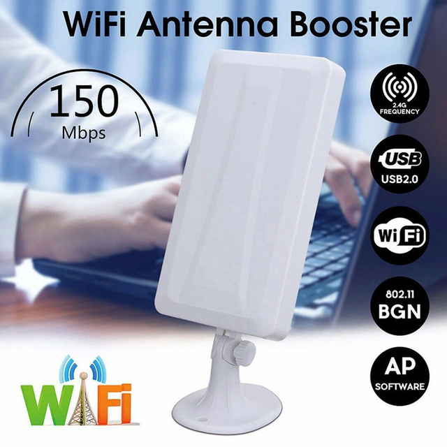 USB wireless network card WiFi Extender Wireless Outdoor Router Repeater computer network signal enhanced wifi receiver 5m 3