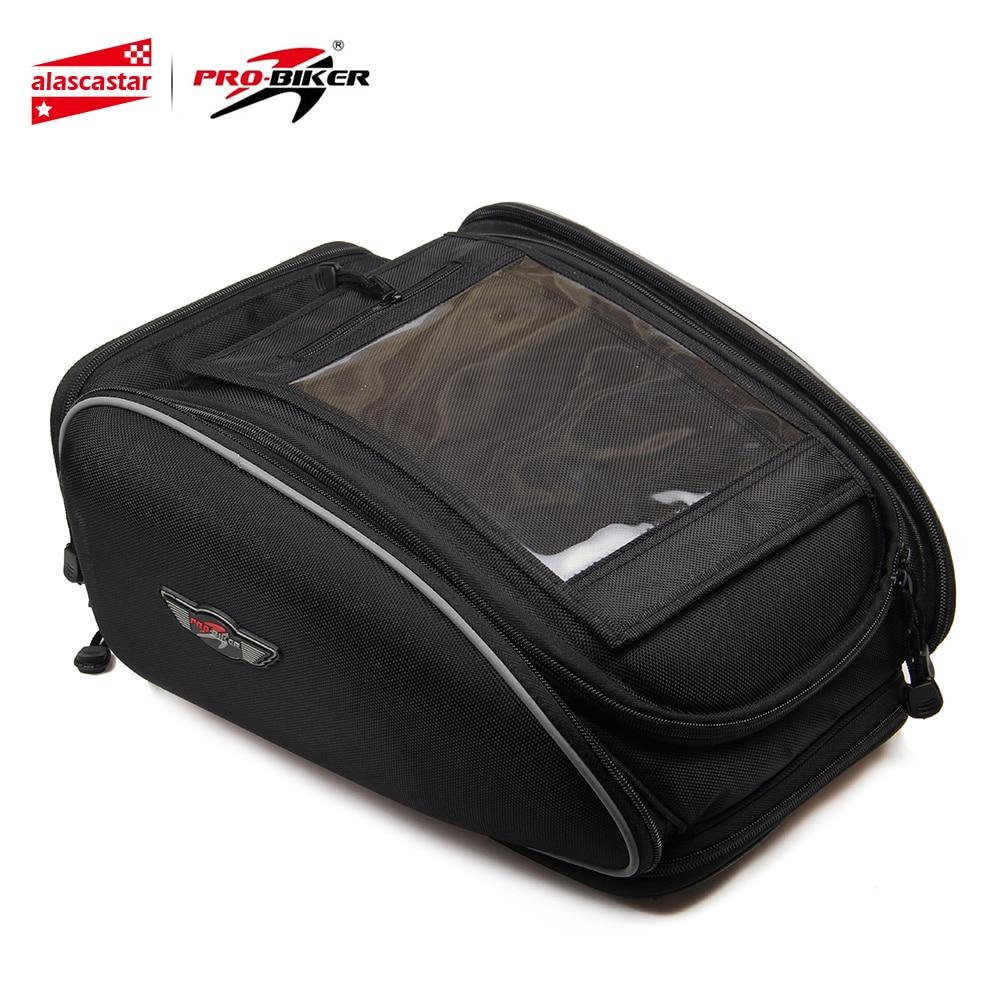 PRO-BIKER Motorcycle Bag Riding Waterproof Magnetic Oil Tank Bag Motorbike Multifunction Portable Tool Tail Bag Handbag Luggage цена