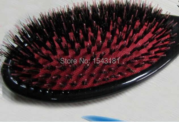 Profesional Nyata Liar Babi Bulu Sikat Rambut Ekstensi, Hight Kualitas Tangle Sikat Rambut Alami Yang Sangat Baik Airbrush, Sikat Rambut