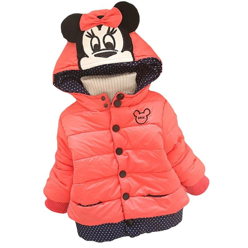 LZH Baby Girls Jacket 19 Autumn Winter Jacket For Girls Coat Kids Warm Hooded Outerwear Coat For Girls Clothes Children Jacket 37