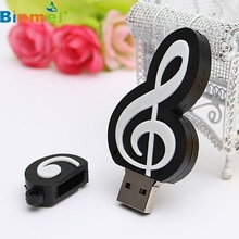 ecosin2  32GB USB 2.0 1.1 Leather Flash Disk Memory Stick Storage Thumb U-Disk Note Shaped Novel Gift  17mar24
