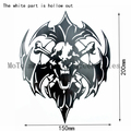 Motorcycle black Claw skulls decorative decal stickers Free shipping