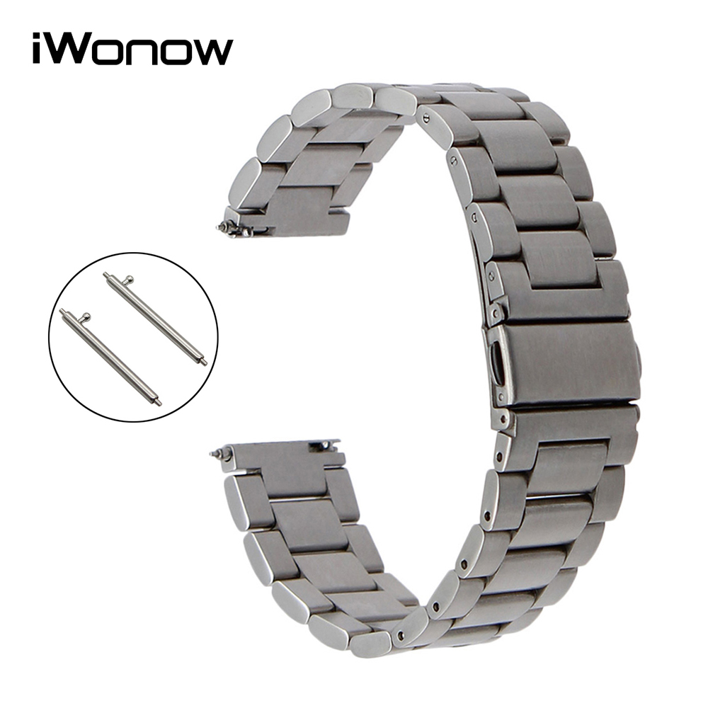 Quick Release Stainless Steel Watch Band For Tissot T035 Prc 200 Longines  Mido Omega Men Women