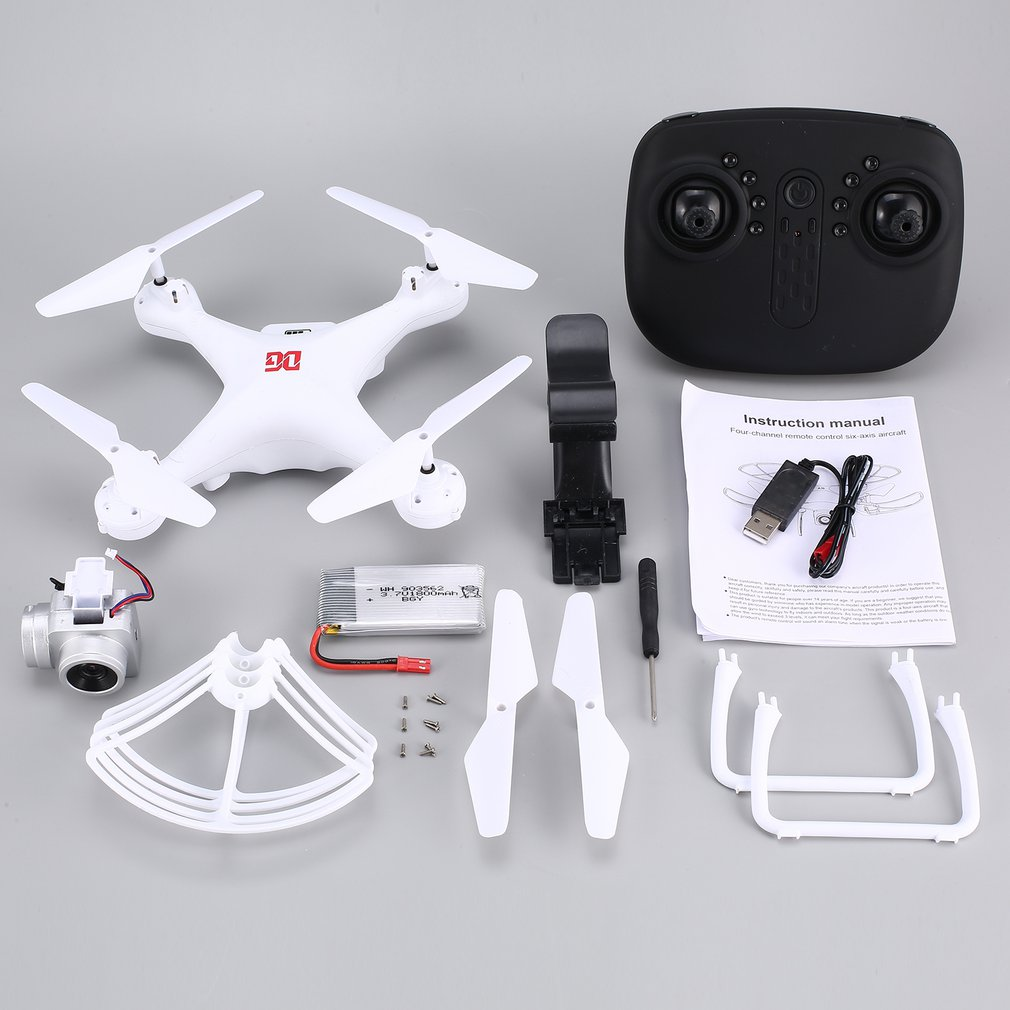 XG183 2.4G RC <font><b>Mini</b></font> <font><b>Drone</b></font> <font><b>FPV</b></font> Quadcopter with 720P HD Camera Real-time Altitude Hold LED Flash Word Programmable Props image