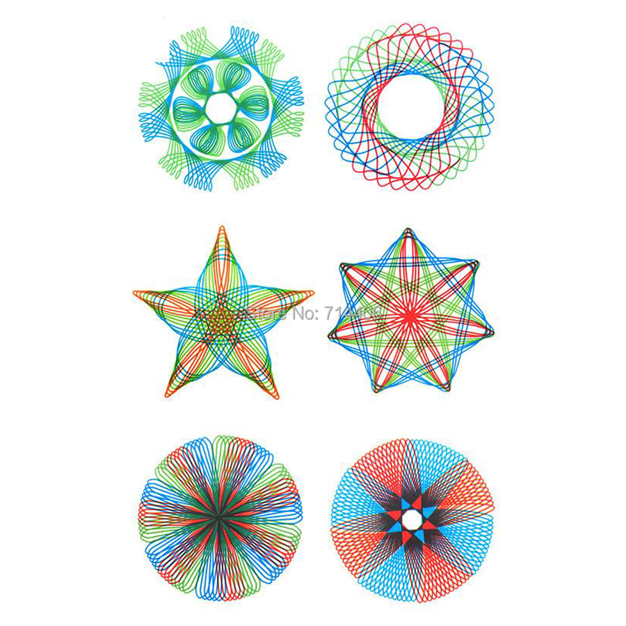 Spirograph-set-22pcs-Accessories-Paint-Coloring-GameDesigns-Interlocking-Gears-Wheelseducational-classic-drawing-toy-for-kid-2