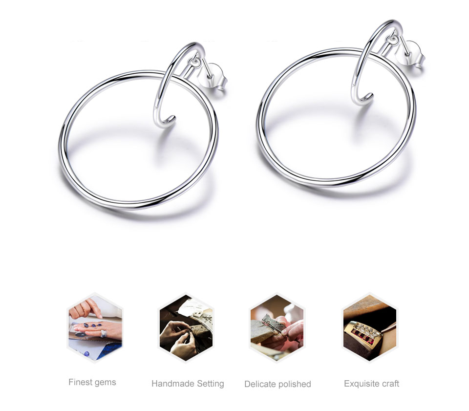 925 sterling silver earrings for women (2)