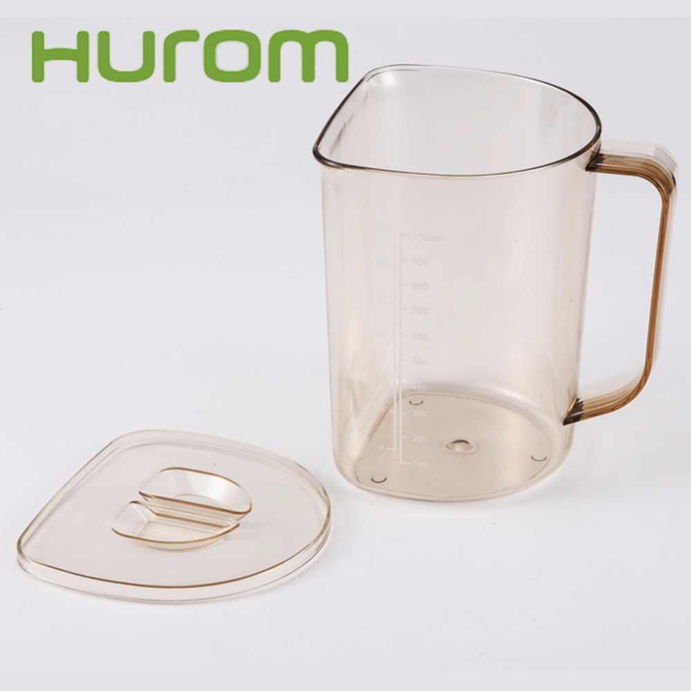 MAIS NOVO 1 pcs xícara + 1 pcs xícara de suco de escória para peças de reposição para juicer hurom Espremedor hurom juicer lento liquidificadores peças de reposição