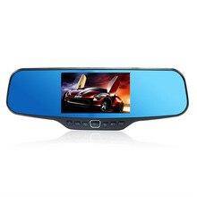 Big discount Range Tour Z4 4.3″ LCD Dual Lens Car DVR Rearview Mirror Camera C20 Full HD 1080P full hd Lens Night Vision