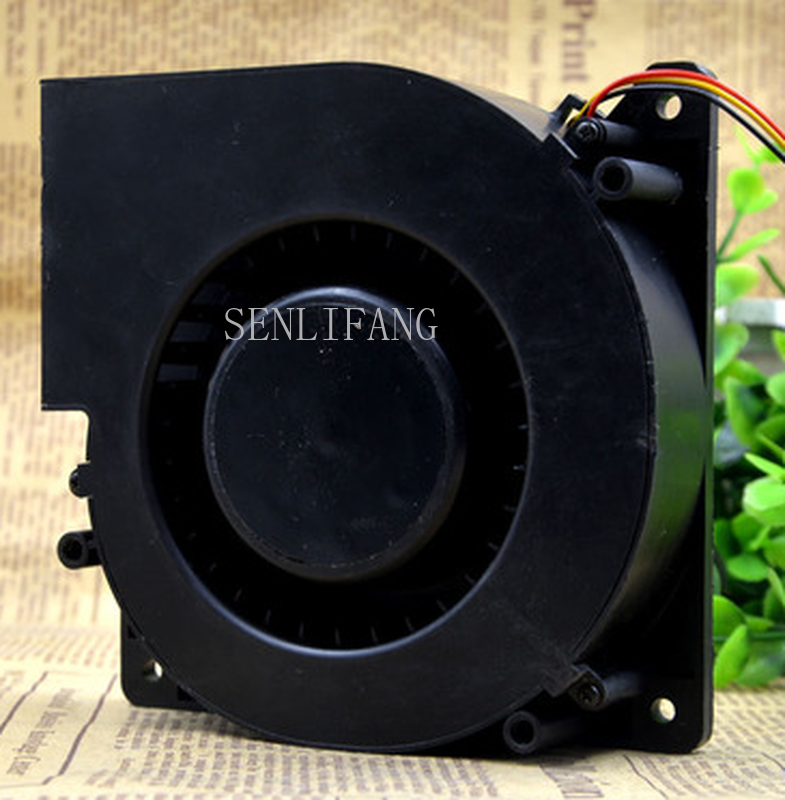 Free Shipping YY12032H24B Double Ball Blower Cooling Fan DC 24V 1.8A 12032 12CM 120*120*32mm 3 Wires