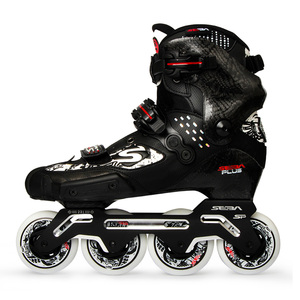 Image 4 - 100% Original 2020 Neueste SEBA S Rutsche Professionelle Erwachsene Inline Skates Kohlenstoff Faser Schuhe Slalom Schiebe Freies Skating Patines